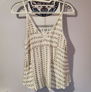 Free People Sequin/Beaded Cami